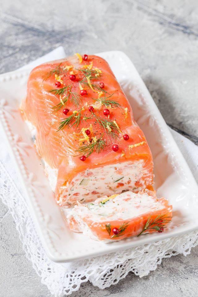 Courgettes Saumon En Mousse Cake