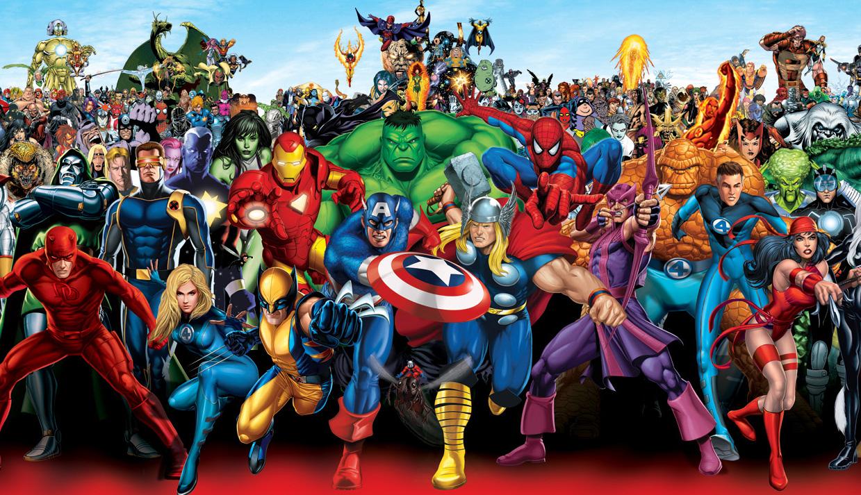 Super-héros-Marvel